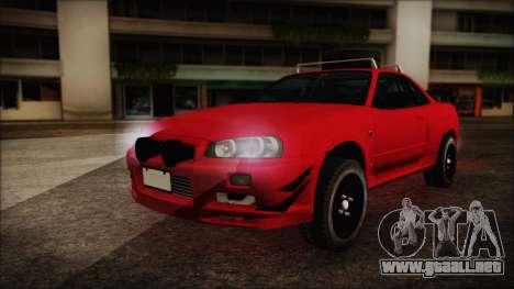 Nissan Skyline R34 Offroad Spec para GTA San Andreas