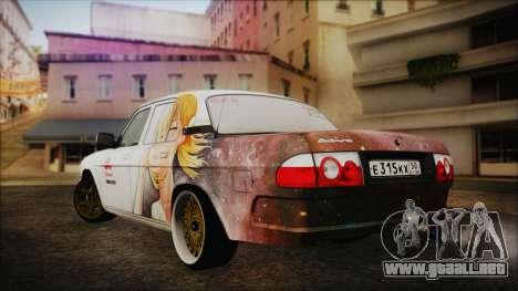 ГАЗ 31105 Deriva (Eterna Edición de Verano) para GTA San Andreas left