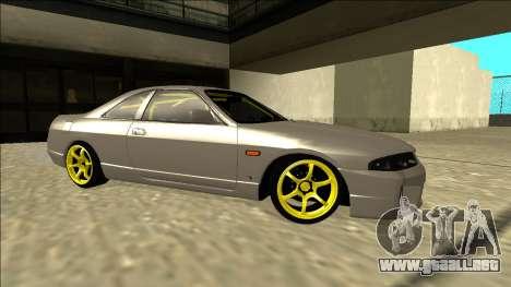 Nissan Skyline R33 Drift para la visión correcta GTA San Andreas