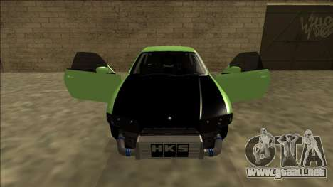 Nissan Skyline R33 Drift para la vista superior GTA San Andreas