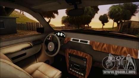 GTA 5 Declasse Granger SA Style para la visión correcta GTA San Andreas