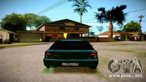 Subaru Impreza WRX STI Wagon para la visión correcta GTA San Andreas