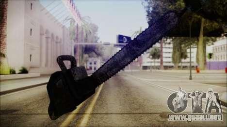 Helloween Chainsaw para GTA San Andreas segunda pantalla