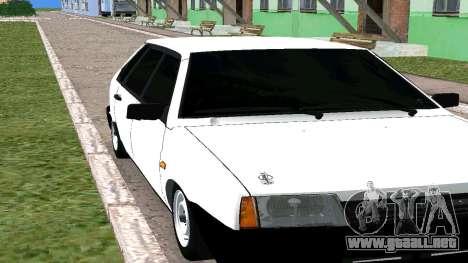 2109 THE БПАN para GTA San Andreas left