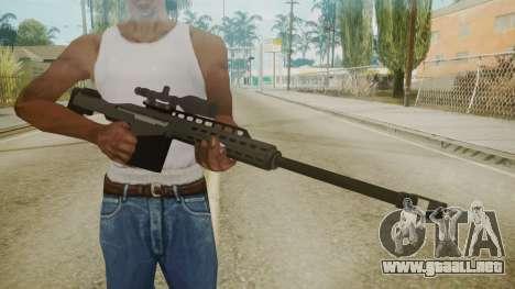 GTA 5 Sniper Rifle para GTA San Andreas tercera pantalla