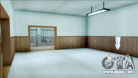 New Interior for SFPD para GTA San Andreas sucesivamente de pantalla