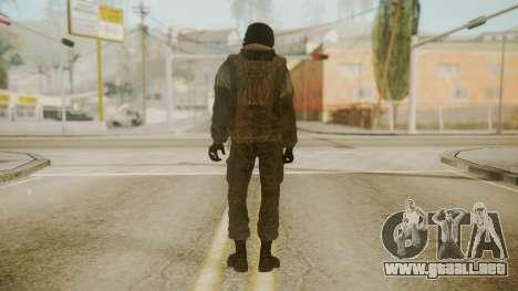 Spetsnaz Operator - 2010s para GTA San Andreas segunda pantalla