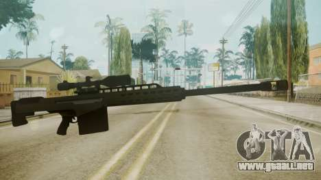 GTA 5 Sniper Rifle para GTA San Andreas