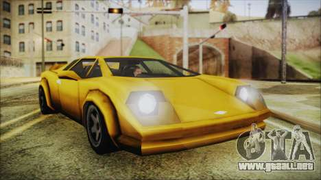 Vice City Infernus para GTA San Andreas