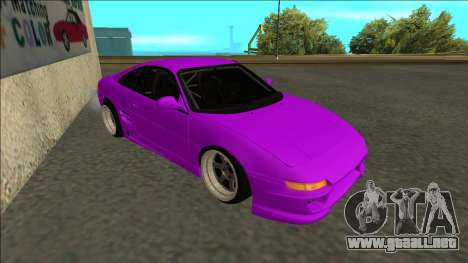 Toyota MR2 Drift para GTA San Andreas left