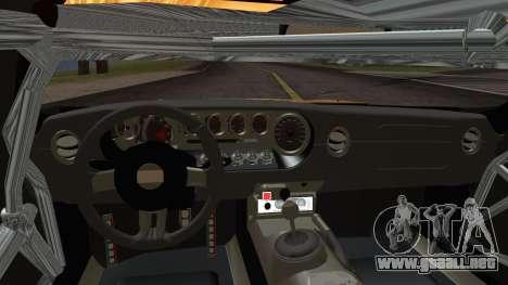 Ford GT-R mk.7 para la visión correcta GTA San Andreas
