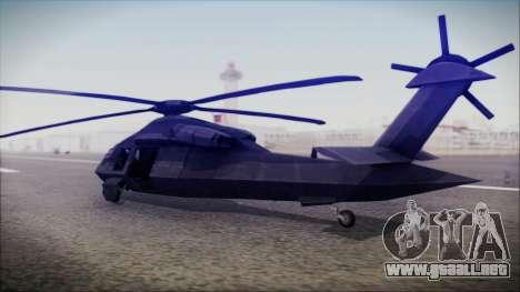 UH-80 Ghost Hawk para GTA San Andreas left