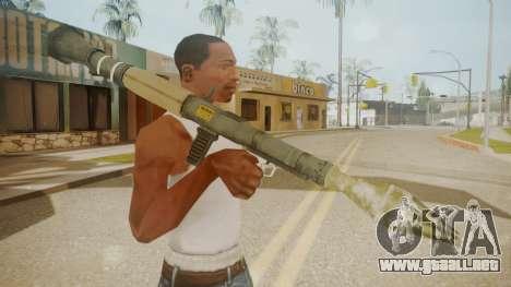 GTA 5 Rocket Launcher para GTA San Andreas tercera pantalla