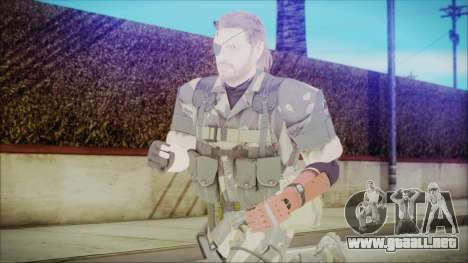 MGSV Phantom Pain Snake Normal Splitter para GTA San Andreas