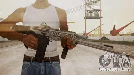 Bushmaster ACR Silver para GTA San Andreas tercera pantalla