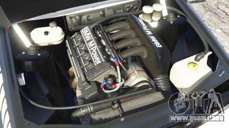 GTA 5 BMW M3 (E30) 1991 [Nalan] v1.2 vista lateral trasera derecha