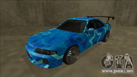 Nissan Skyline R33 Drift Blue Star para GTA San Andreas