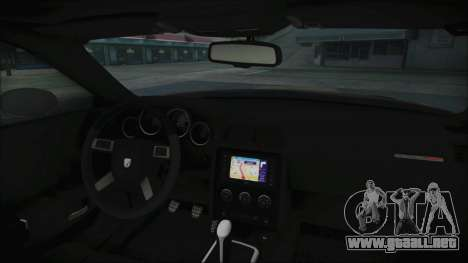 Dodge Challenger Daytona para la visión correcta GTA San Andreas