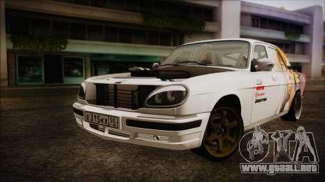 ГАЗ 31105 Deriva (Eterna Edición de Verano) para GTA San Andreas