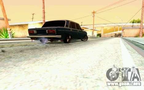 VAZ 2106 para la vista superior GTA San Andreas