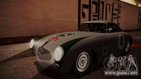 Mercedes-Benz 300 SL (W194) 1952 HQLM para GTA San Andreas vista hacia atrás