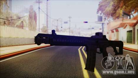 SOWSAR-17 Type G Assault Rifle para GTA San Andreas segunda pantalla