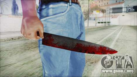Helloween Butcher Knife para GTA San Andreas