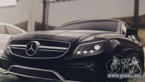 Mercedes-Benz CLS 63 AMG W218 para la visión correcta GTA San Andreas