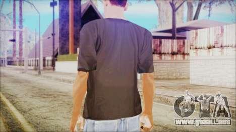 Illuminati T-Shirt para GTA San Andreas segunda pantalla