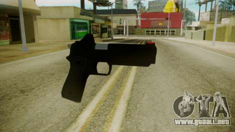 GTA 5 Desert Eagle para GTA San Andreas segunda pantalla
