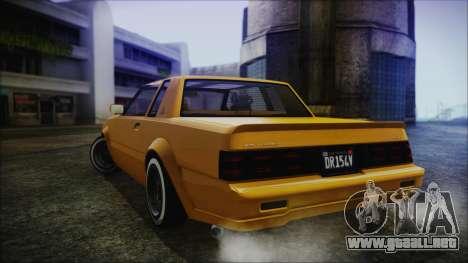 GTA 5 Willard Faction Custom Bobble Version IVF para GTA San Andreas left