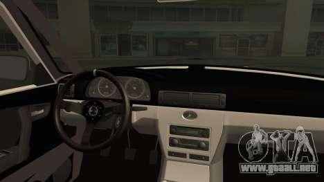 ГАЗ 31105 Deriva (Eterna Edición de Verano) para la visión correcta GTA San Andreas