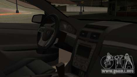 Chevrolet Lumina SS 2011 K.N Edition para la visión correcta GTA San Andreas