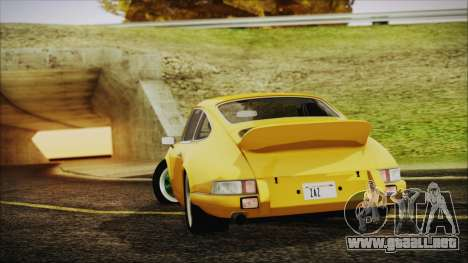 Porsche 911 Carrera RS 2.7 (901) 1973 para GTA San Andreas left