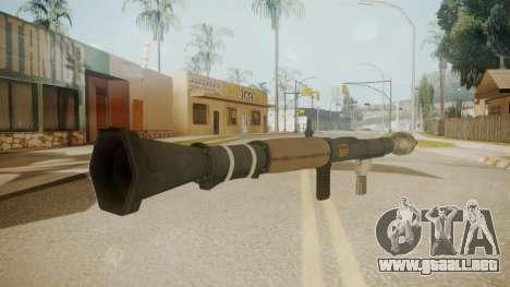 GTA 5 Rocket Launcher para GTA San Andreas segunda pantalla