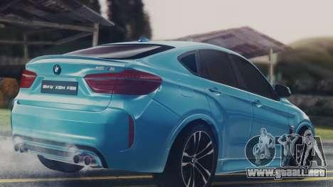 BMW X6M F86 v2.0 para la visión correcta GTA San Andreas
