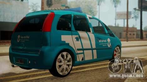 Chevrolet Meriva de Seguridad Vial para GTA San Andreas left