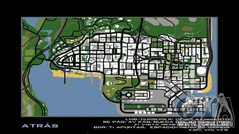 HD Radar Map para GTA San Andreas