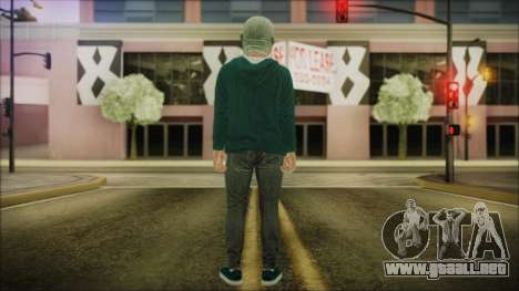 DLC Halloween GTA 5 ZombieCraneo para GTA San Andreas tercera pantalla