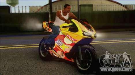 GTA 5 Bati HD para la visión correcta GTA San Andreas