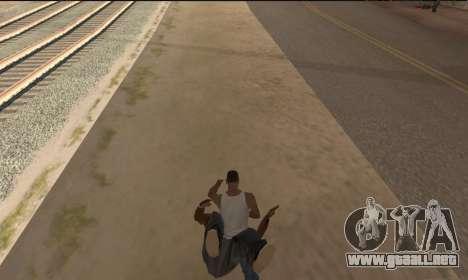 Para llevar el cadáver para GTA San Andreas segunda pantalla