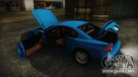 Ford Mustang GT 1993 v1.1 para visión interna GTA San Andreas
