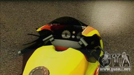 GTA 5 Bati HD para GTA San Andreas vista posterior izquierda