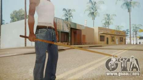 GTA 5 Pool Cue para GTA San Andreas tercera pantalla