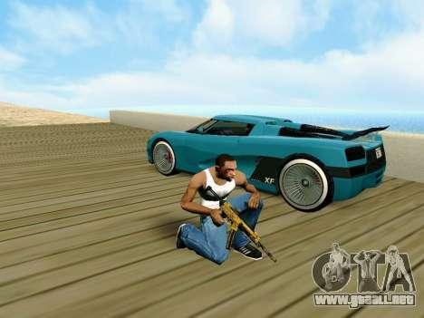 Anti-Lag Enb (Bajo PC) para GTA San Andreas tercera pantalla