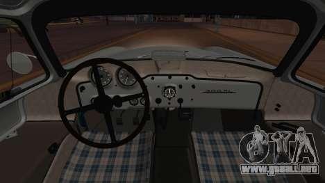 Mercedes-Benz 300 SL (W194) de 1952, la FIV АПП para visión interna GTA San Andreas