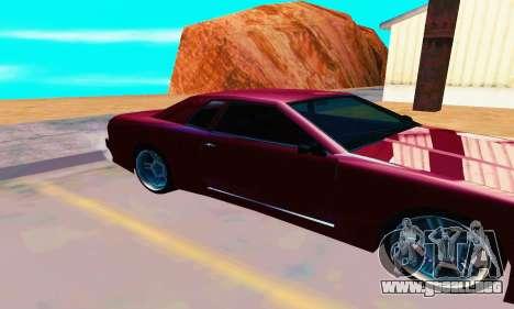 Elegy From Life para GTA San Andreas vista posterior izquierda