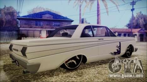 Blade Custom para GTA San Andreas left