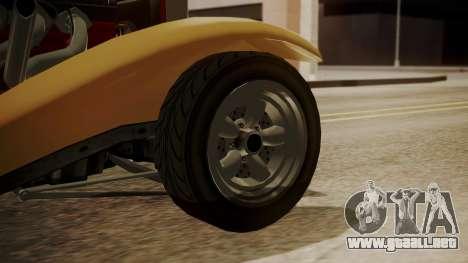 GTA 5 Albany Franken Stange para GTA San Andreas vista posterior izquierda