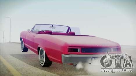 GTA 5 Albany Buccaneer Custom IVF para GTA San Andreas left